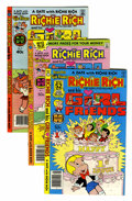 Bronze Age (1970-1979):Cartoon Character, Richie Rich and His Girlfriends #1-16 File Copies Group (Harvey,1979-82) Condition: Average NM-.... (Total: 36 Comic Books)