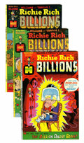 Bronze Age (1970-1979):Cartoon Character, Richie Rich Billions File Copies Group (Harvey, 1974-82) Condition:Average NM-.... (Total: 95 Comic Books)