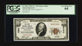 National Bank Notes:Pennsylvania, Glen Campbell, PA - $10 1929 Ty. 1 The First NB Ch. # 5204. ...