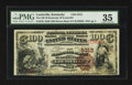 National Bank Notes:Kentucky, Louisville, KY - $100 1882 Brown Back Fr. 530 The NB of KentuckyCh. # 5312. ...