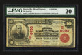 National Bank Notes:West Virginia, Harrisville, WV - $10 1902 Red Seal Fr. 613 The First NB Ch. #(S)6790. ...