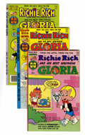 Bronze Age (1970-1979):Cartoon Character, Richie Rich and Gloria File Copies Group (Harvey, 1977-82)Condition: NM-.... (Total: 65 Comic Books)