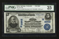 National Bank Notes:Colorado, Idaho Springs, CO - $5 1902 Plain Back Fr. 598 The First NB Ch. #(W)2962. ...