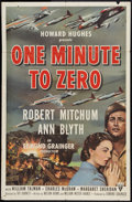"Movie Posters:War, One Minute to Zero (RKO, 1952). One Sheet (27"" X 41""). War.. ..."
