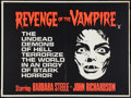 """Movie Posters:Horror, Black Sunday (American International, 1961). British Quad (30"""" X 40""""). Also known as Revenge of the Vampire. Horror.. ..."""