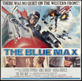 "Movie Posters:War, The Blue Max (20th Century Fox, 1966). Six Sheet (81"" X 81""). War....."