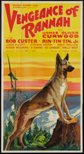 """Movie Posters:Western, Vengeance of Rannah (Reliable, 1936). Three Sheet (41"""" X 81""""). Western.. ..."""