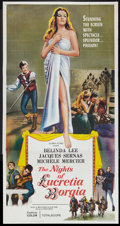 "Movie Posters:Romance, The Nights of Lucretia Borgia (Columbia, 1960). Three Sheet (41"" X 81""). Romance.. ..."