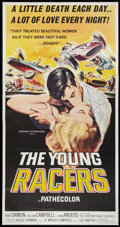 "Movie Posters:Action, The Young Racers (American International, 1963). Three Sheet (41"" X81""). Action.. ..."
