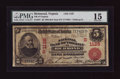 National Bank Notes:Virginia, Richmond, VA - $5 1902 Red Seal Fr. 587 NB of Virginia Ch. #(S)1125. ...
