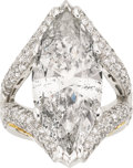 Estate Jewelry:Rings, Diamond, Platinum, Gold Ring, Moyer. ...