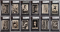 """Miscellaneous Collectibles:General, 1935 Pattreiouex """"Sporting Events & Stars"""" BVG-Graded Complete Set (96) - With NM-MT Joe Louis & Bobby Jones. ..."""