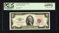 Small Size:Legal Tender Notes, Fr. 1509* $2 1953 Legal Tender Note. Dual Courtesy Autograph. PCGS Very Choice New 64PPQ.. ...