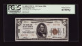 National Bank Notes:Kentucky, Lexington, KY - $5 1929 Ty. 2 The Lexington City NB Ch. # 906. ...