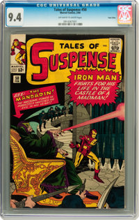 Tales of Suspense #50 Twin Cities pedigree (Marvel, 1964) CGC NM 9.4 Off-white to white pages
