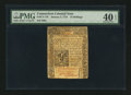 Colonial Notes:Connecticut, Connecticut January 2, 1775 10s PMG Extremely Fine 40 EPQ.. ...