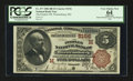 National Bank Notes:Missouri, Warrensburg, MO - $5 1882 Brown Back Fr. 477 The Peoples NB Ch. #(M)5156. ...