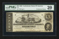 Confederate Notes:1862 Issues, T51 $20 1862 PF-9 Cr. 368 CC.. ...