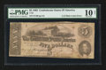 Confederate Notes:1862 Issues, T53 $5 1862 PF-5 Cr. 384A CC.. ...
