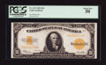 Large Size:Gold Certificates, Fr. 1173 $10 1922 Gold Certificate PCGS About New 50.. ...