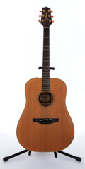 Musical Instruments:Acoustic Guitars, 1988 Takamine EN-10 Natural Electric Acoustic Guitar #88011279....