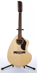 Musical Instruments:Acoustic Guitars, 1974 Giannini AWKS12 Natural 12 String Acoustic Guitar #06-1974....