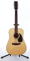 Musical Instruments:Acoustic Guitars, 1970 Sigma By Martin DM3-12 Natural 12 String Acoustic Guitar#258831....