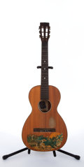 Musical Instruments:Acoustic Guitars, 1929 Supertone Bradley Kincaid Natural Acoustic Guitar # N/A....