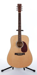 Musical Instruments:Acoustic Guitars, Recent Ion IAEP04C/N Natural Acoustic Guitar # N/A....