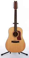 Musical Instruments:Acoustic Guitars, 1984 Washburn D-20-12 Natural 12-String Acoustic Guitar, #843194....