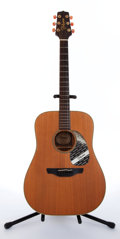 Musical Instruments:Acoustic Guitars, 1986 Takamine N-10 Natural Acoustic Guitar, #86091862....
