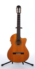 Musical Instruments:Acoustic Guitars, 1993 Alvarez By Kazuo Yairi CY-127 CE Natural Electric Acoustic Guitar, #53196....