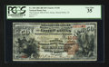 National Bank Notes:New Jersey, Mount Holly, NJ - $50 1882 Brown Back Fr. 508 The Farmers NB of NewJersey Ch. # 1168. ...