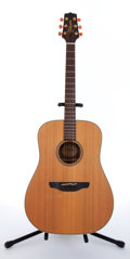 Musical Instruments:Acoustic Guitars, 1993 Takamine N-10 Natural Acoustic Guitar, #93101290....