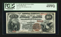 National Bank Notes:Missouri, Springfield, MO - $10 1882 Brown Back Fr. 490 The Union NB Ch. #5209. ...
