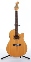 Musical Instruments:Acoustic Guitars, 1992 Fender Montara Natural Electric Acoustic Guitar, #90372102....