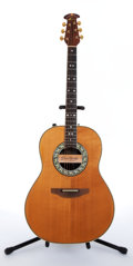 Musical Instruments:Acoustic Guitars, 1981 Ovation 1617 Natural Electric Guitar, #250753....