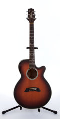 Musical Instruments:Acoustic Guitars, 1994 Takamine EF-261 BS Sunburst Electric Acoustic Guitar,#94040077....