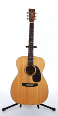 Musical Instruments:Acoustic Guitars, 1990 Alvarez 5014 SLM Natural Acoustic Guitar #24764...