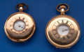 Timepieces:Pocket (post 1900), Two - Demi-Hunter's Gold Filled Pocket Watches - Seth Thomas & Waltham . ... (Total: 2 Items)