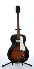 Musical Instruments:Electric Guitars, 1960's Kay Sunburst Archtop Electric Guitar # N/A....