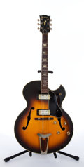 Musical Instruments:Electric Guitars, 1970's Ventura ES-175 Sunburst Archtop Electric Guitar # N/A...