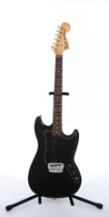 Musical Instruments:Electric Guitars, 1978 Fender Musicmaster Black Electric Guitar #S805867....