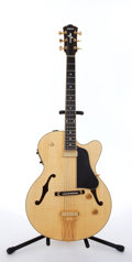 Musical Instruments:Electric Guitars, 1998 Yamaha AEX-1500 Natural Semi-Hollow Body Electric Guitar#OP26017....