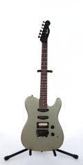 Musical Instruments:Electric Guitars, Mid 1980's Fender Telecaster Metallic Olive Electric Guitar#E684654...