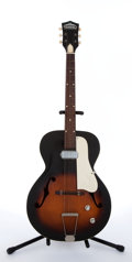 Musical Instruments:Electric Guitars, Vintage Truetone Sunburst Archtop Acoustic Guitar # N/A....
