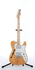 Musical Instruments:Electric Guitars, 2007 Fender Telecaster Thinline Natural Electric Guitar#MZ6007172....