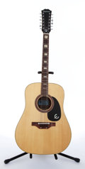 Musical Instruments:Acoustic Guitars, 1965 Epiphone FT-165 Natural 12-String Acoustic Guitar #321945,...