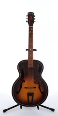 Musical Instruments:Acoustic Guitars, 1944 Harmony H-1215 Sunburst Archtop Acoustic Guitar #1395H1215....