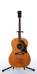 Musical Instruments:Acoustic Guitars, 1966 Gibson TG-25 N Natural Acoustic Tenor Guitar #424664...